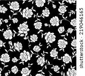 pattern of rose  | Shutterstock .eps vector #219046165