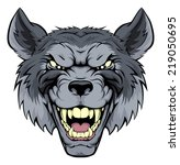 Wolf Angry Clip Art, Vector Wolf Angry - 152 Graphics ...