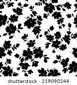 flower pattern | Shutterstock .eps vector #219090244