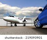 luxury transportation | Shutterstock . vector #219093901