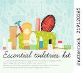 vector flat modern creative... | Shutterstock .eps vector #219120265