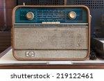 vintage radio | Shutterstock . vector #219122461