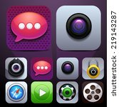 app icons  vector objects
