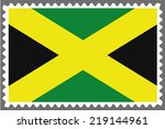 an illustration of a stamp with ... | Shutterstock .eps vector #219144961