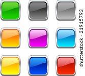 web shiny buttons. vector... | Shutterstock .eps vector #21915793