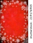 red christmas background | Shutterstock . vector #219176905