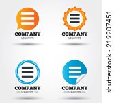 list sign icon. content view... | Shutterstock .eps vector #219207451