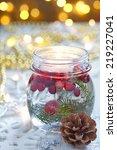 Christmas Decoration. Candle I...