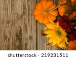 Pumpkins And Sunflower Top Vie...