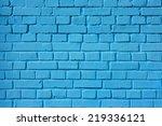 A Blue Brick Wall. The Brick...