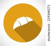 croissant icon | Shutterstock .eps vector #219348271