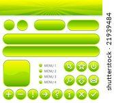 vector user interface set