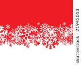 a snowflakes background texture ... | Shutterstock . vector #21942013