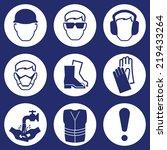construction industry health... | Shutterstock . vector #219433264
