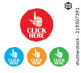 click here colorful stamp... | Shutterstock .eps vector #219507391
