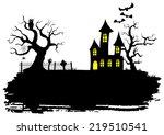 vector illustration of a... | Shutterstock .eps vector #219510541