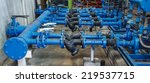 pipe valve water connection on... | Shutterstock . vector #219537715