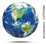 model of earth | Shutterstock . vector #21955486