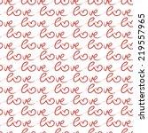 romantic calligraphy wallpaper. ... | Shutterstock .eps vector #219557965