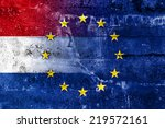 netherlands and european union... | Shutterstock . vector #219572161