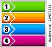 vector illustration of four... | Shutterstock .eps vector #219573931