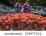Fresh Strawberries At The...