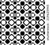 black and white geometric... | Shutterstock .eps vector #219625945