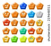 smile | Shutterstock . vector #219648511