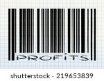product  bar code design with... | Shutterstock . vector #219653839