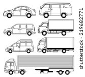 transportation vehicle | Shutterstock .eps vector #219682771