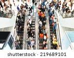 rush hour | Shutterstock . vector #219689101