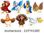 illustration of different kind... | Shutterstock .eps vector #219741385