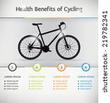 cycling infographic or... | Shutterstock .eps vector #219782341