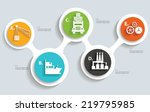 logistic and industry info... | Shutterstock .eps vector #219795985