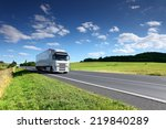 truck on the road | Shutterstock . vector #219840289