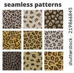 Seamless Animal Fur Pattern Se...