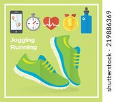 jogging and running concept...