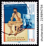 germany   circa 1998  a stamp... | Shutterstock . vector #219894754