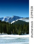 winter mountains in colorado | Shutterstock . vector #2199328