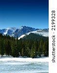 winter mountains in colorado | Shutterstock . vector #2199328