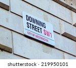 Downing Street  London  Uk  ...