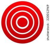 red target. graphics for target ... | Shutterstock .eps vector #220012969