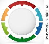 presentation or infographics... | Shutterstock .eps vector #220013161