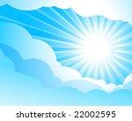 sky background   Shutterstock .eps vector #22002595