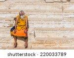 varanasi  india   feb 18   a... | Shutterstock . vector #220033789