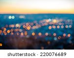 city blurring lights abstract... | Shutterstock . vector #220076689