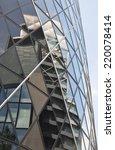 london   july 26. reflections... | Shutterstock . vector #220078414