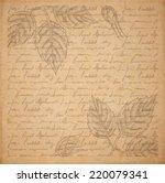 Vintage Old Paper Texture...