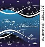 christmas banner | Shutterstock .eps vector #22011301