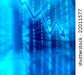 blue data space | Shutterstock . vector #22011577